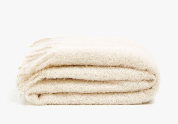 Couverture en mohair Zara Home