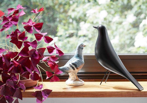 Oiseau en bois Vitra