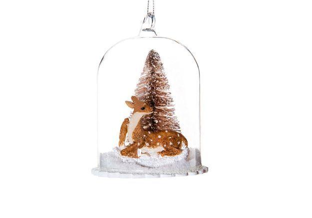 Boule de Noël en forme de cloche