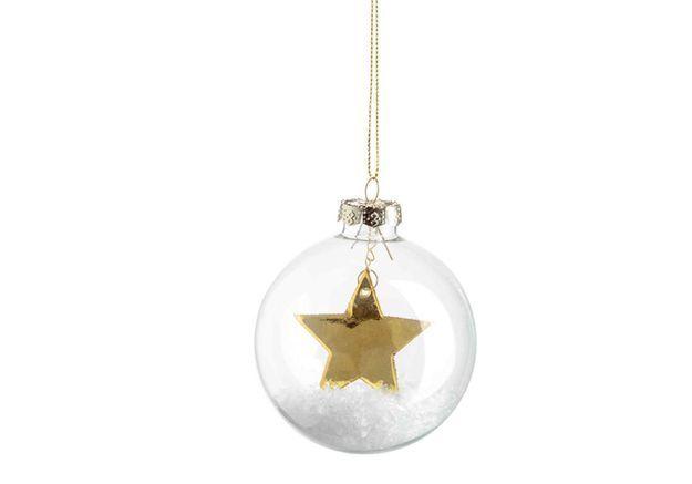 Boule de Noël étoilée