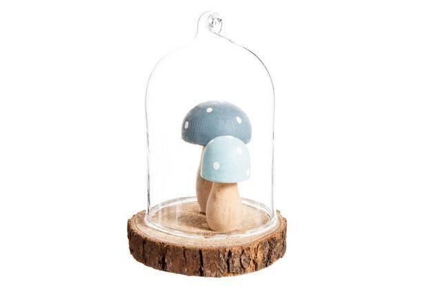 Boule de Noël en verre en forme de cloche