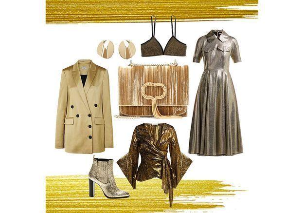 Comment bien porter le doré : nos meilleurs alliés mode