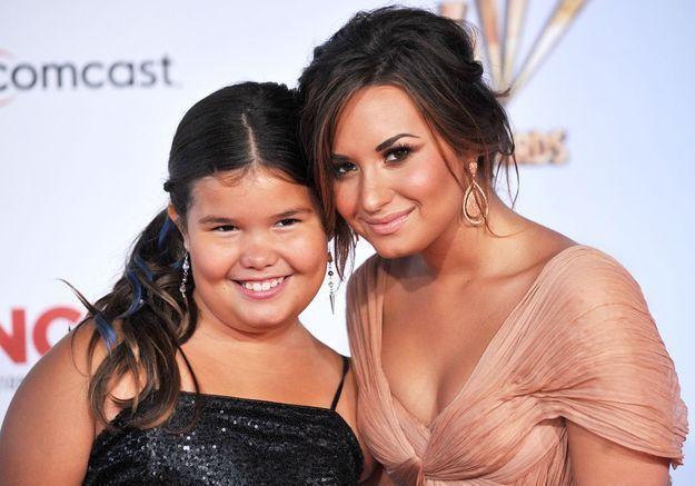 Demi Lovato est la demi-sœur de Madison de la Garza