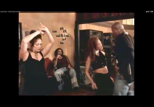 Jennifer Lopez a fait de la figuration pour Janet Jackson