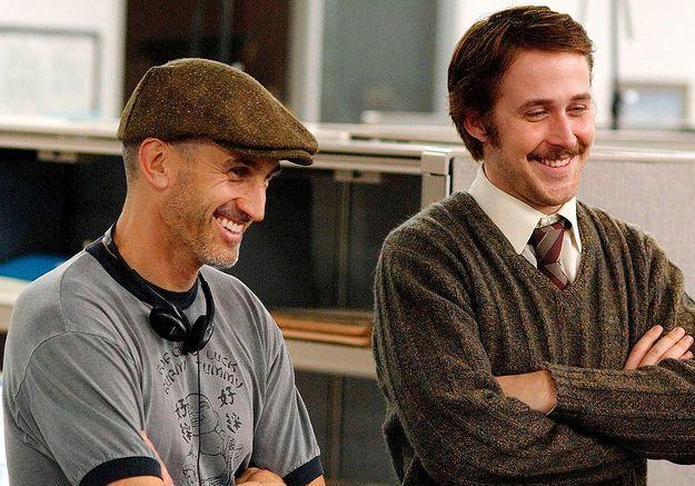 Sur le tournage d'«Une fiancée pas comme les autres» de Craig Gillespie (2007).