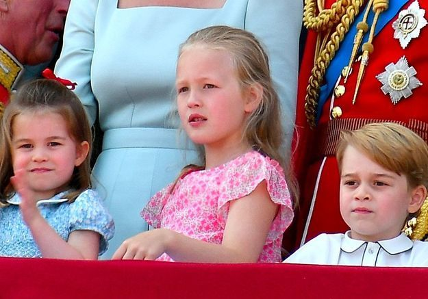 Trooping the Colour, au balcon de Buckingham Palace