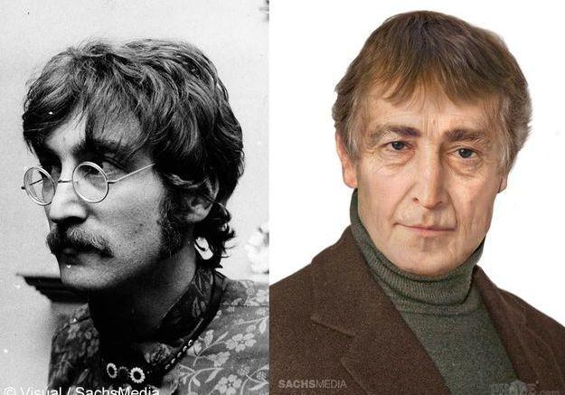 A quoi ressembleraient John Lennon et Elvis aujourd'hui ?