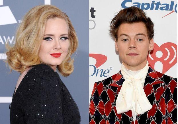 Adele et Harry Styles en couple : la folle rumeur se confirme !