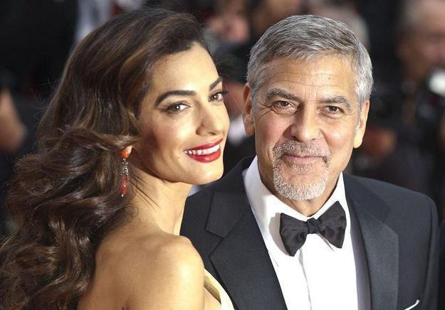 Amal Clooney enceinte de jumeaux ?