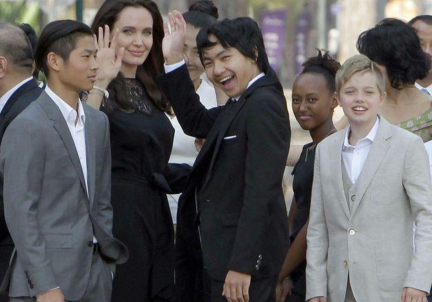 Angelina Jolie parle pour la première de son divorce avec Brad Pitt