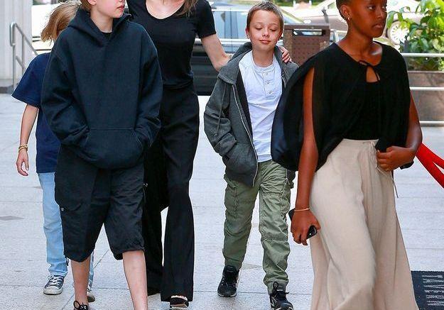 Angie et ses enfants