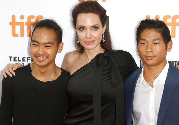 Angelina Jolie : son voyage secret en Corée avec ses fils Maddox et Pax Thien