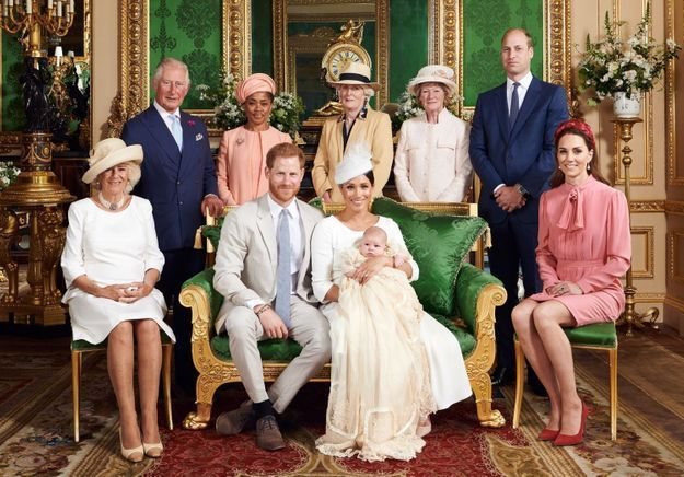 Baptême d'Archie : les photos enfin dévoilées du royal baby avec Harry et Meghan Markle