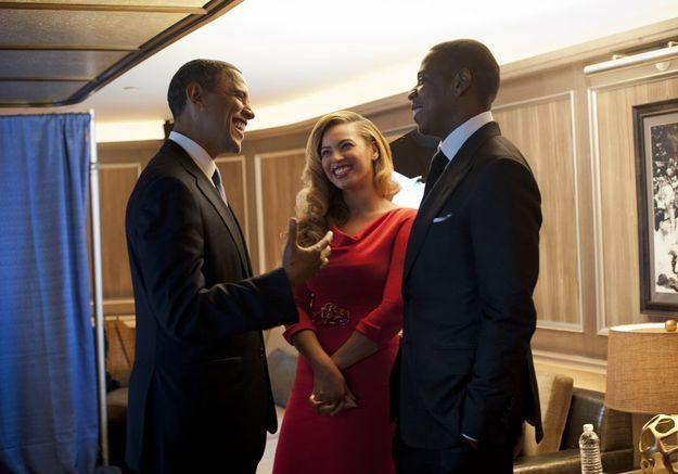 Barack Obama face à Jay Z et Beyoncé