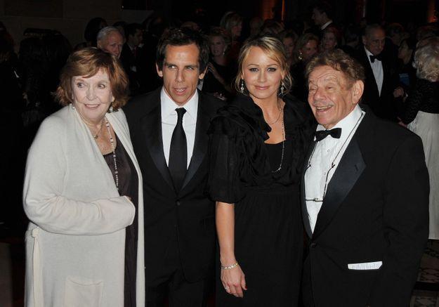 Ben Stiller rend hommage à sa mère, l'actrice Anne Meara