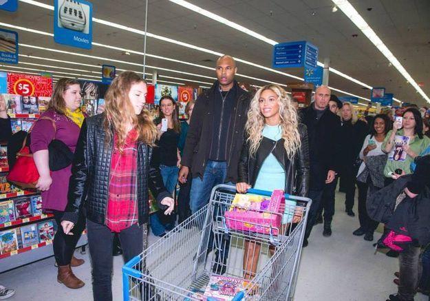 Beyoncé crée la surprise dans un supermarché