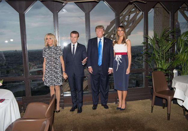 Brigitte Macron et Melania Trump : un dîner à Paris