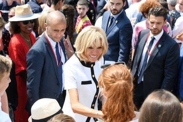 Bain de foule pour la Première dame