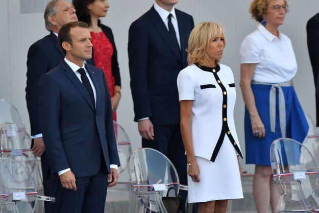 Emmanuel et Brigitte Macron