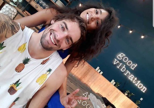 Camille Lacourt en couple avec sa partenaire dans DALS