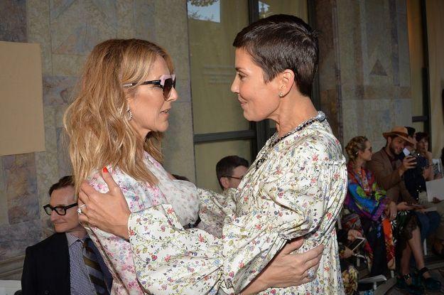 Céline Dion et Cristina Cordula