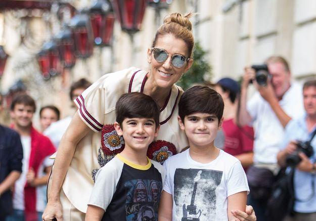 Céline Dion à propos de ses jumeaux Eddy et Nelson : « Ils sont très différents »