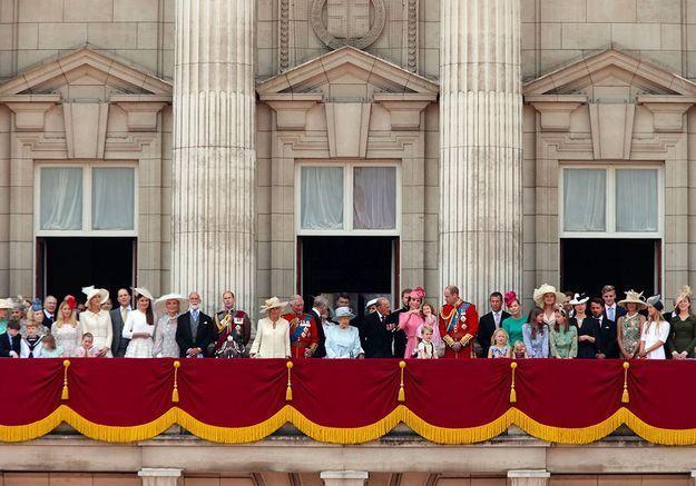 La famille royale au complet