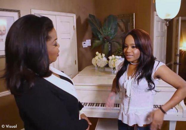 Bobby Kristina et Oprah