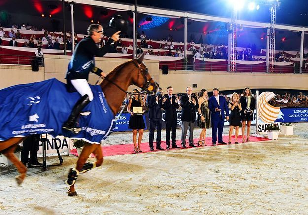 Le jumping international de Monaco