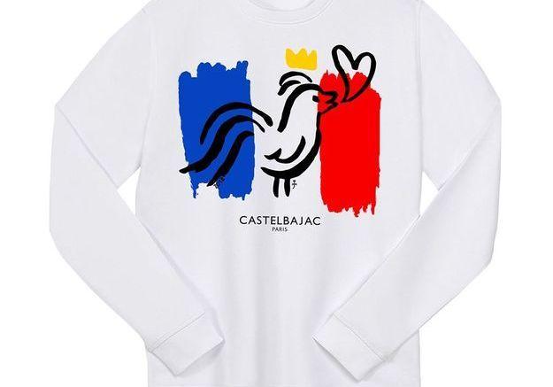 """Un sweatshirt pour faire """"Cocorico"""""""