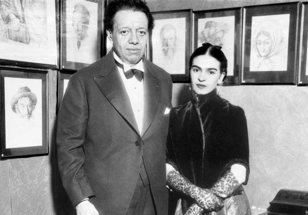 Couple de légende : Frida Kahlo et Diego Rivera, la passion bohème