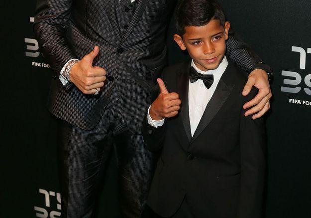 Cristiano Ronaldo : son fils de 8 ans, déjà une star en Italie