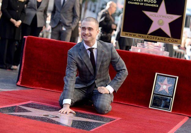 Daniel Radcliffe : un nouveau look pour son étoile à Hollywood