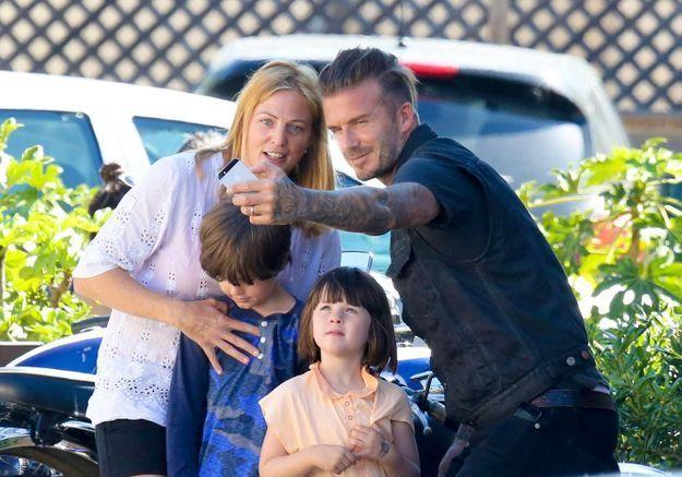 David Beckham a toujours le temps pour un selfie!