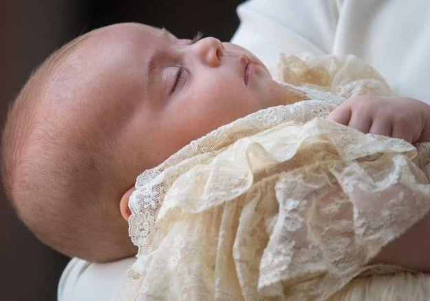 Le prince Louis le jour de son baptême