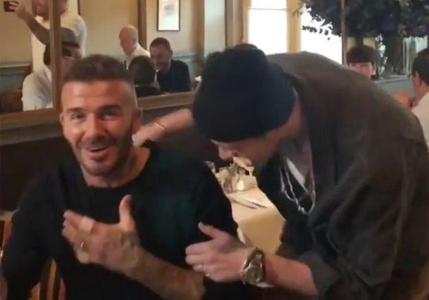 Découvrez l'incroyable surprise pour l'anniversaire de David Beckham