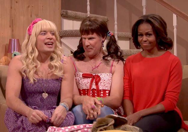 Découvrez le sketch délirant de Michelle Obama
