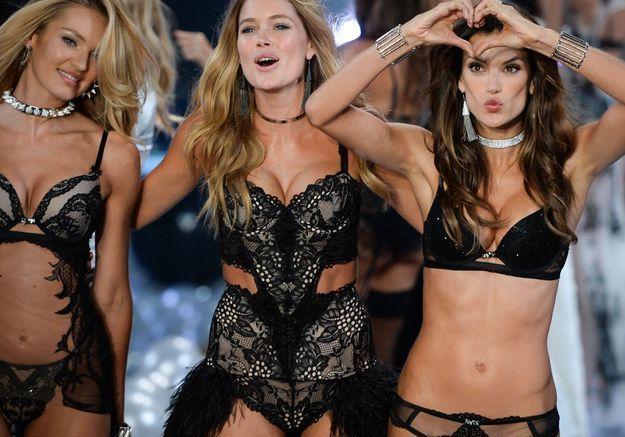 Le final du défilé Victoria's Secret 2014
