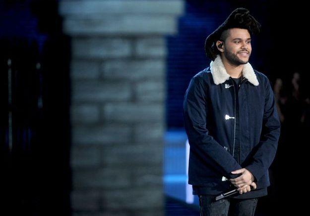 The Weeknd au défilé Victoria's Secret 2015