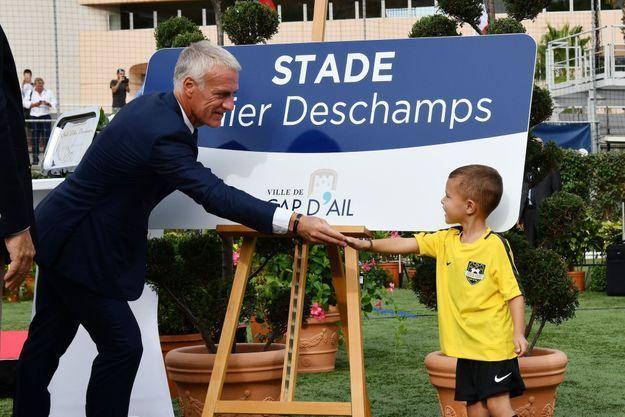 Didier Deschamps possède un stade à son nom