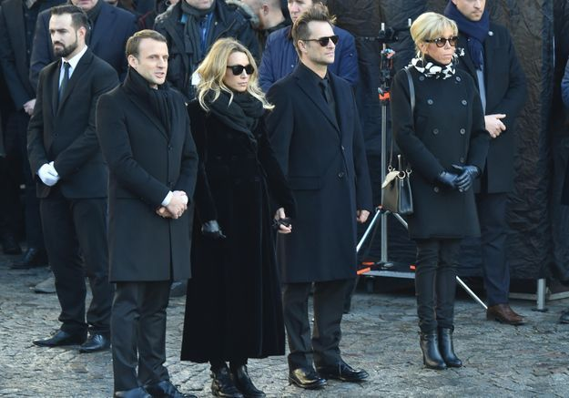 Disparition de Johnny Hallyday : la discussion de Laura Smet et David Hallyday avec Brigitte Macron