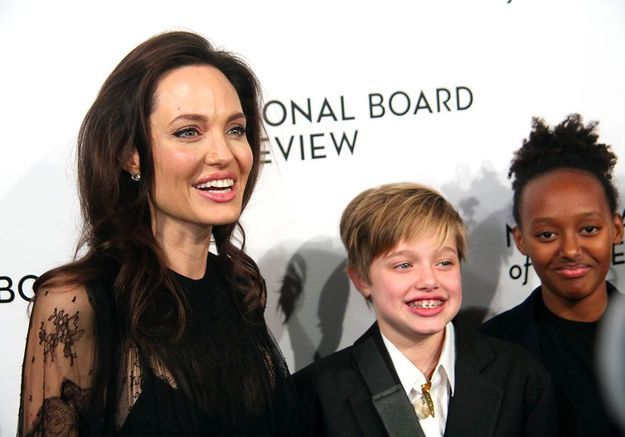 Angelina, Shiloh et Zahara
