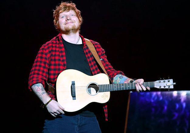 Ed Sheeran dans Sept à Huit : « roux et bègue », la question qui choque