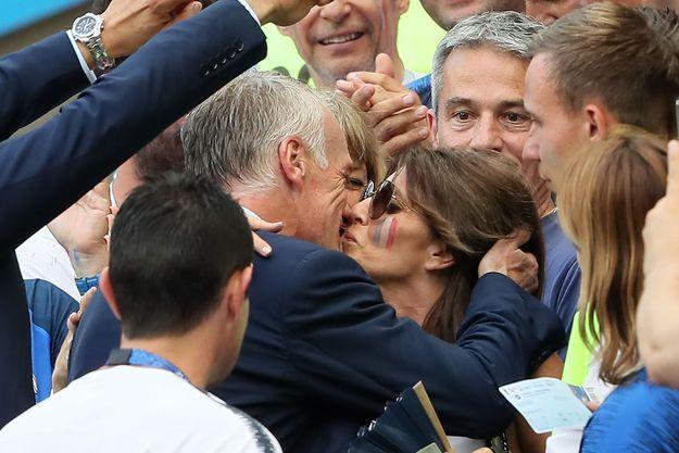 Didier Deschamps et sa femme, Claude