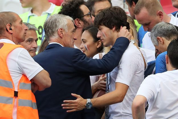 Didier Deschamps et son fils, Dylan
