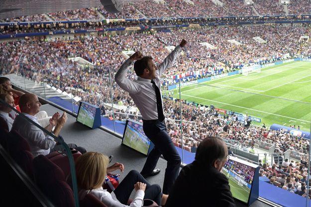 Emmanuel Macron était à fond !