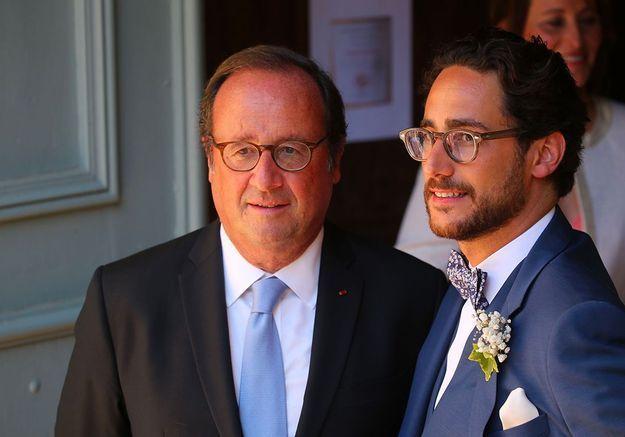 François Hollande et son fils