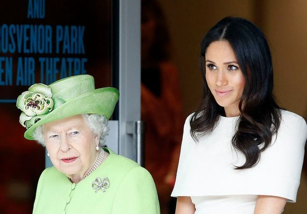 Funérailles du prince Philip : Meghan Markle s'est entretenue avec Elisabeth II avant la cérémonie