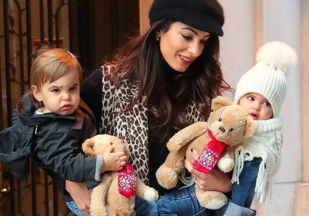 George Clooney : découvrez le visage de ses enfants, ses petits sosies, pour la première fois !