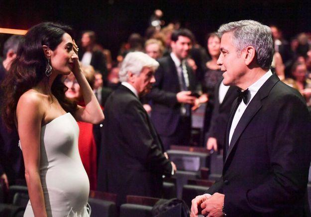 George Clooney parle de la grossesse de son épouse : « Amal est formidable »